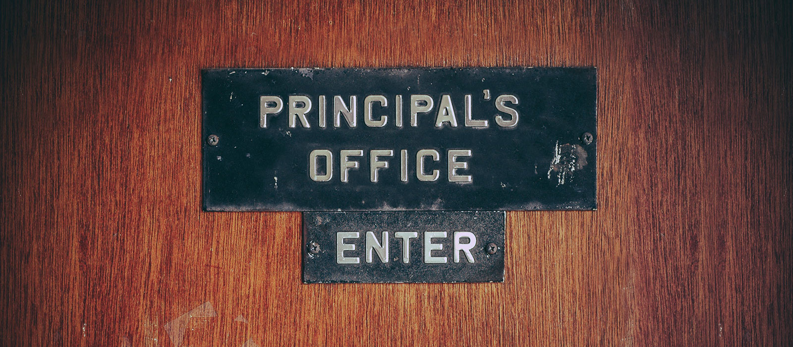 The Principal's Office: A simple concept that erases surprise uncomfortable  conversations for your tribe | Patel OKC