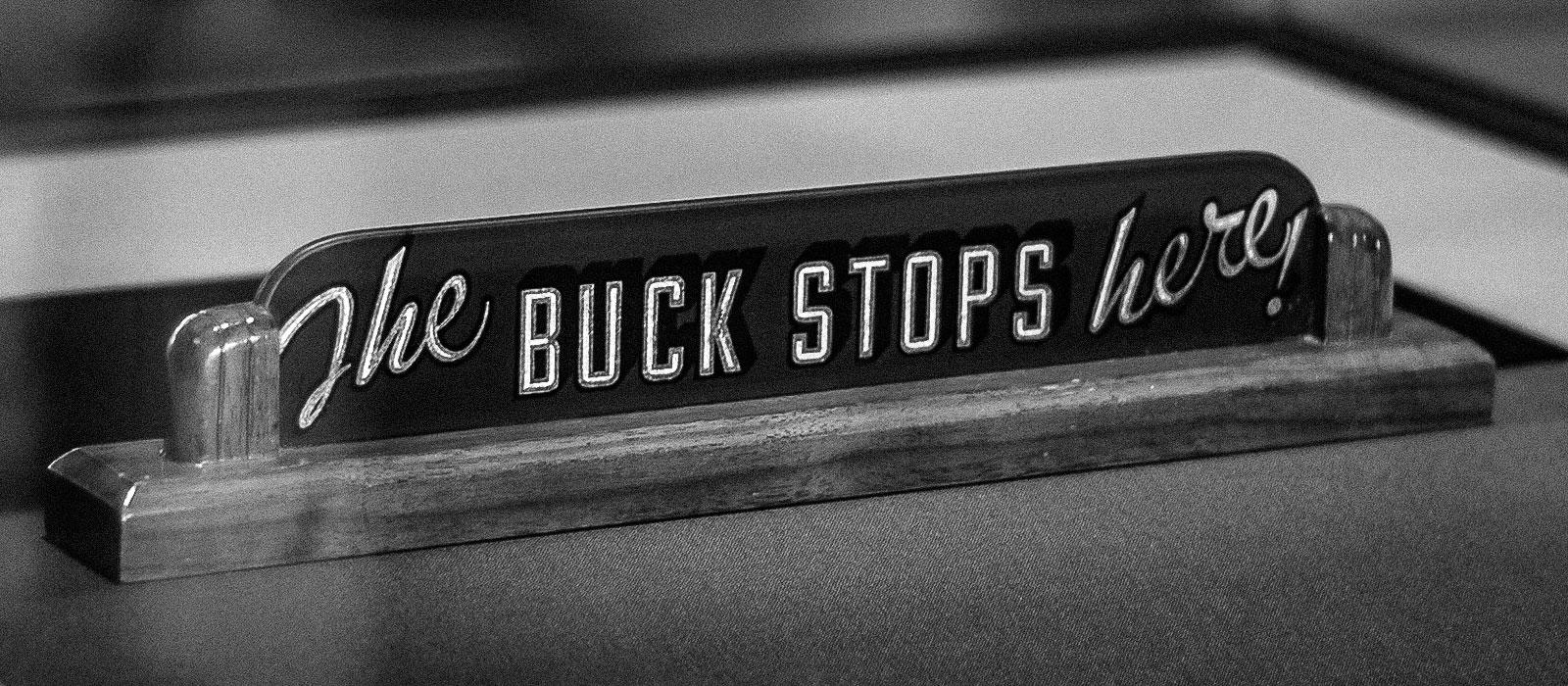 Truman - The Buck Stops Here